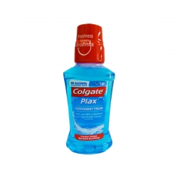 COLGATE PLAX FRESH PEPPERMINT MOUTHWASH 250ML 90.25