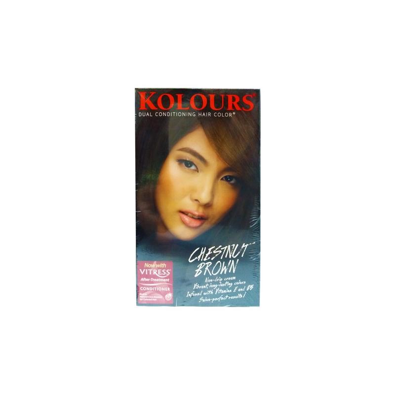 Kolours Versatile Hair Colouring Chestnut Brown 10 Ts Online