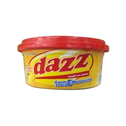 DAZZ DISHWASHING PASTE LEMON CUP 400G