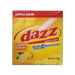 DAZZ DISHWASHING PASTE LEMON REFILL PACK 200G