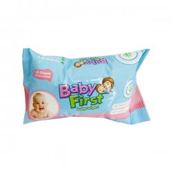 BABY FIRST BABY WIPES 30S 2PKS 17.75