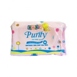 BABY PURITY WET WIPES 80S 90.00