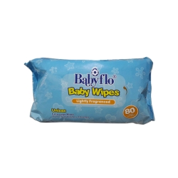 BABY FLO BABY WIPES 80 SOFT WIPES