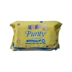 BABY PURITY WET WIPES 80S