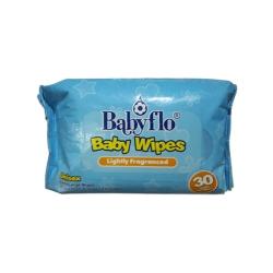 BABYFLO BABY WIPES 30 SOFT WIPES