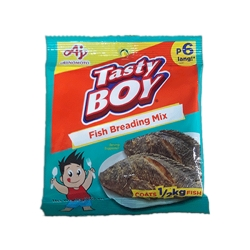AJINOMOTO TASTY BOY FISH BREADING MIX 18G