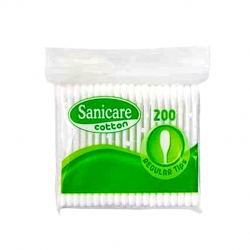 SANICARE COTTON BUDS 200 TIPS