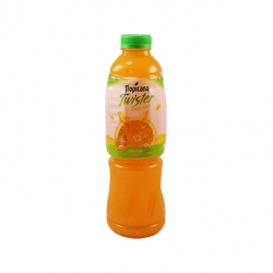 TROPICANA TWISTER ORANGE JUICY PULP 1L