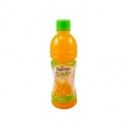 TROPICANA TWISTER JUICY PULP ORANGE 355ML