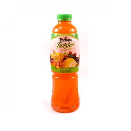 TROPICANA TWISTER TROPICAL FRUIT BURST 1L