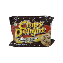 CHIPS DELIGHT COFFEE COOKIES W CARAMEL CHIPS 7 OZ