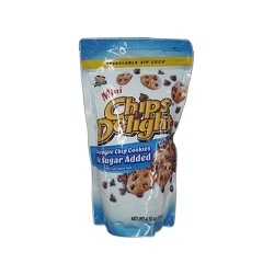CHIPS DELIGHT MINI CHOCO 90% 130G