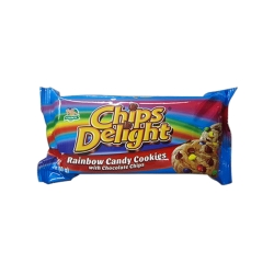 CHIPS DELIGHTS RAINBOW CANDY COOKIES 80G