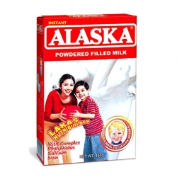 ALASKA INSTANT POWDERED FILLED MILK BOX 450G