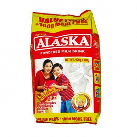 ALASKA POWDER MILK 900+100G