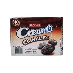 CREAM-O CRINKLES 30GX10PCK