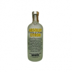 ABSOLUT CITRON IMPORTED 750ML 865.00