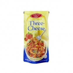 CLARA OLE SPAGHETTI SAUCE THREE CHEESE 250G 22.50