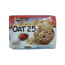 JULIES OAT-25 STRAWBERRY 200G+50G