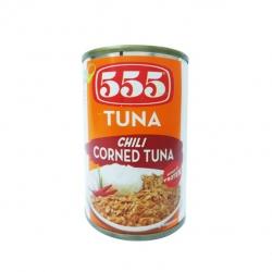 555 TUNA CHILI CORNED TUNA 150G 24.75