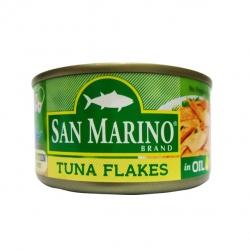 SAN MARINO TUNA FLAKES IN OIL 180G
