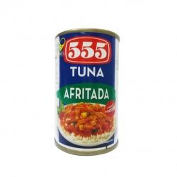 555 TUNA AFRITADA 155G 22.50