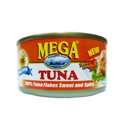 MEGA TUNA FLAKES SWEET&SPICY 180G