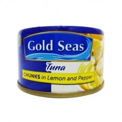 GOLD SEAS TUNA CHUNCKS IN LEMON & PEPPER 90G