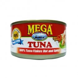 MEGA TUNA FLAKES HOT&SPICY 180G