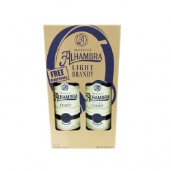 ALHAMBRA SOLERA LIGHT BRANDY 2X1L FREE HEADPHONE 560.00