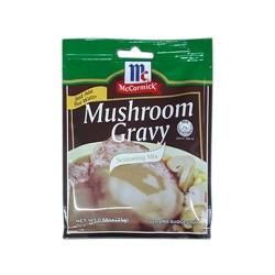 MC CORMICK MUSHROOM GRAVY 25G