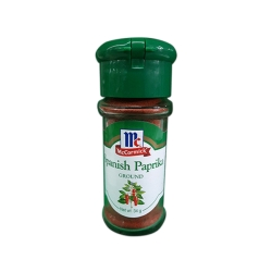 MC CORMICK SPANISH PAPRIKA GROUND 34G