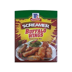 MCCORMICK SCREAMER BUF WINGS 50G + COATING MIX