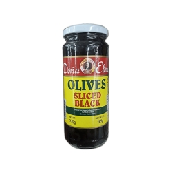 DONA ELENA OLIVE OIL SLICED BLCK 170G