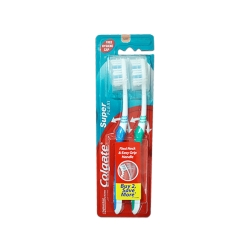 COLGATE CTB SUPER FLEXI BLACK TWINPACK
