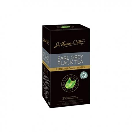 LIPTON EARL GREY BLACK TEA 50G