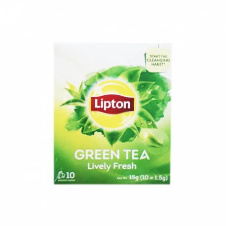 LIPTON GREEN TEA 15G(10X1.5G)